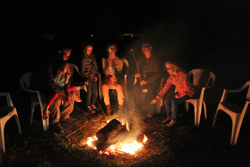 camping, campfire, family holidays, south australian family holidays, fun family holidays