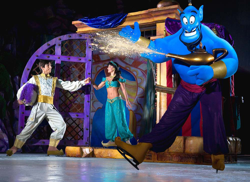 disney on ice, princesses and heroes, ice skating, aladdin