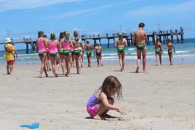 glenelg beach, adelaide beaches, kids beach fun, things to do in glenelg