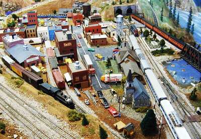 miniature railway, model trains, models, locomotives, railway layout