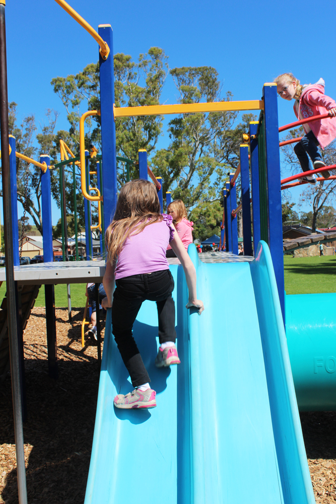 old noarlunga playground reserve, onkaparinga river, playgrounds southern suburbs, family barbecues  - Market Square Park